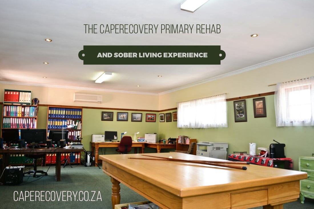 Sober Living Cape Town, Primary Rehab and Sober Living House, Halfway House.